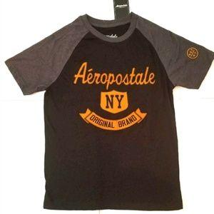 Aeropostale NY Original Brand Men's Black Tee
